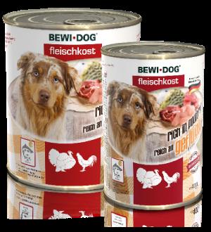Bewidog Fleischkost Reich an Geflügel 800 gr.