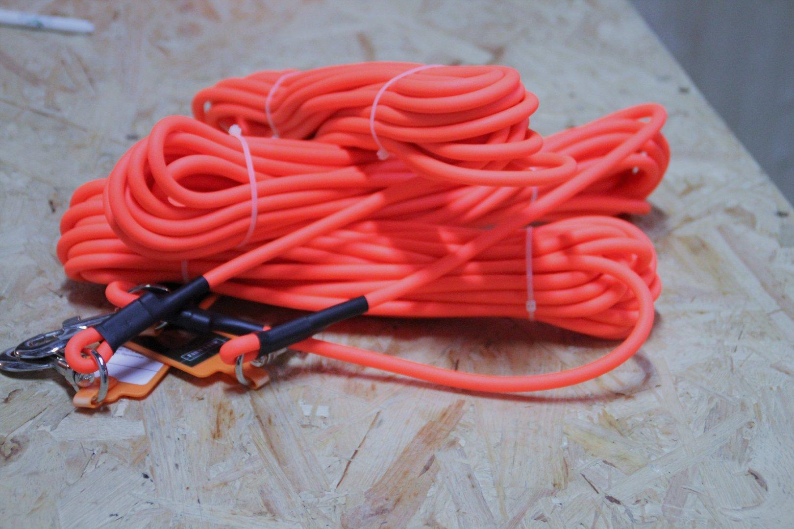 Suchleine 10 m orange rund