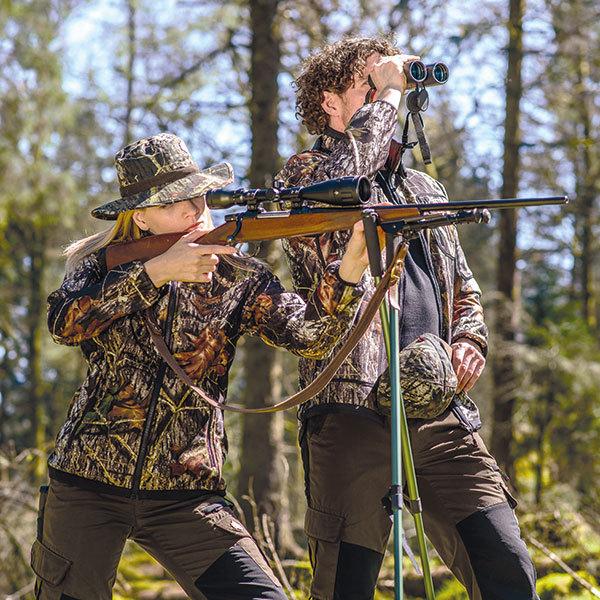 Shooter King Damen Softshell Jacke Mossy Oak