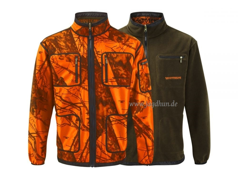 Shooterking Wendejacke Mossy Blaze Orange