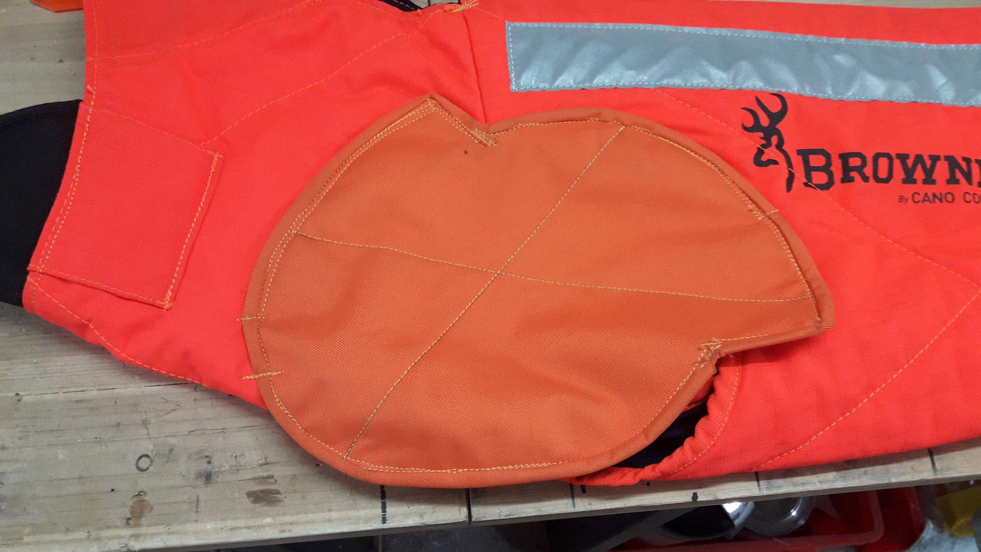 Schulterschutz für Browning Westen